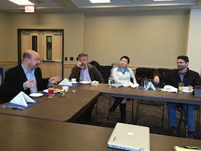 Photo: Breakfast meeting on science communication.