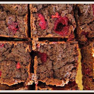 Donna Hay chocolate raspberry brownies
