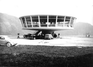 Photo: Belvedere da Serra. Até a década de 70, alí funcionava um restaurante. Atualmente encontra-se abandonado. Foto da década de 60