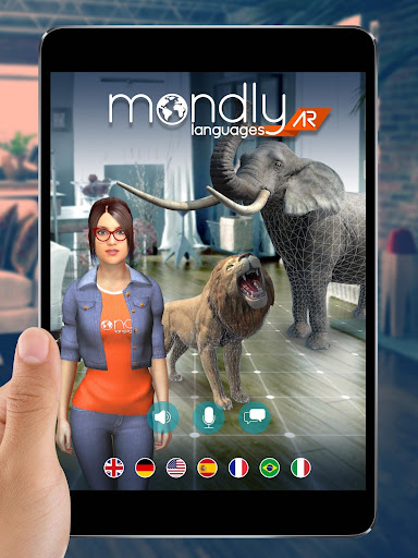 Learn 33 Languages Free - Mondly app (apk) free download for Android/PC/Windows screenshot