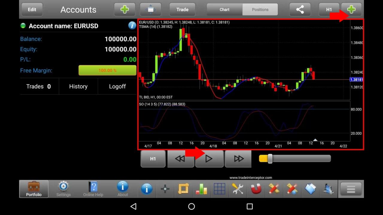 Download and work with Trade Interceptor App review
