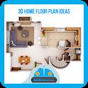 3D Home Floor Plan Ideas icon