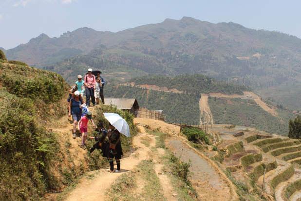 Hiking in Bac Ha