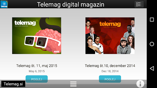 Telemag digital magazine- screenshot thumbnail