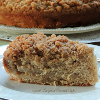 Apple Layered Crumb Cake