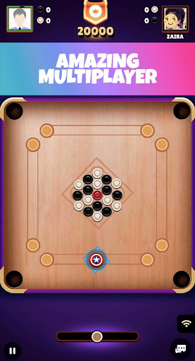 Carrom Royal - Multiplayer Carrom Board Pool Game apktram screenshots 2