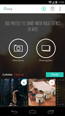 Xoisy app - add and share photos with your friends
