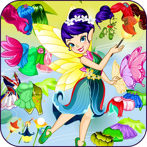 Cute butterfly dress up Icon