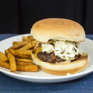Carolina-Style BBQ Burgers #SundaySupper