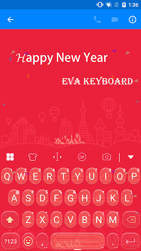 Happy New Year 2017 -Keyboard