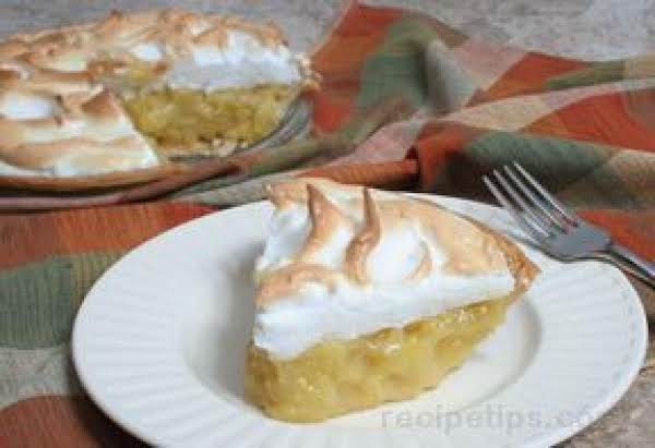 Pineapple Custard Meringue Pie Recipe