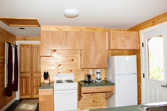 Photo: Kitchen area at Perry Merrill cottagge at Ricker Pond State Park