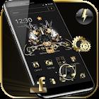 ゴールドハイテクテーマ Gold High tech icon
