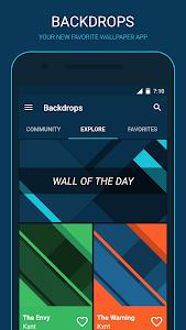 Backdrops - Wallpapers v2.23 [Pro]
