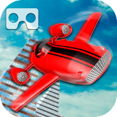 VR Flying Car Racer
