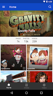 FANDOM for: Gravity Falls- screenshot thumbnail