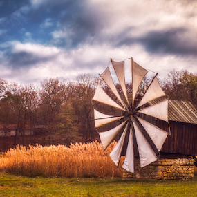 Old authentic traditional wind mill by Roberto Sorin - Buildings & Architecture Decaying & Abandoned ( country, civilization, rural, facade, building, dutch, view, indigenous, landmark, sky, reflection, holland, old, amsterdam, windmill, netherlands, history, real, water, mill, schans, traditional, panorama, field, museum, outside, vintage, autumn, astra, wind, north, destination, tourism, romania, house, working, tradition, village, architecture, famous, historic, nature, countryside, blue, wooden, sunset, authentic, typical, travel, sibiu, landscape,  )