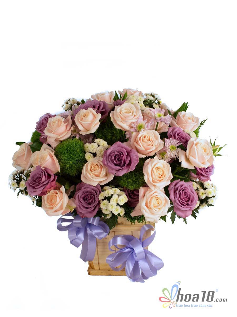 hộp hoa đẹp nhất