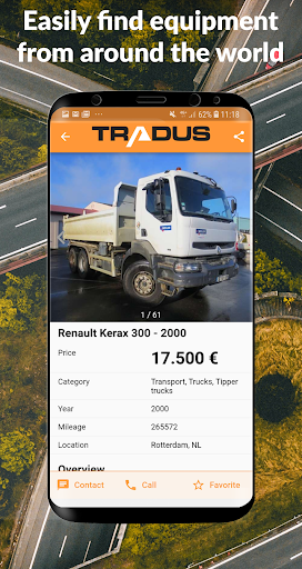 Tradus - Heavy Machinery Marketplace 1.4 screenshots 1