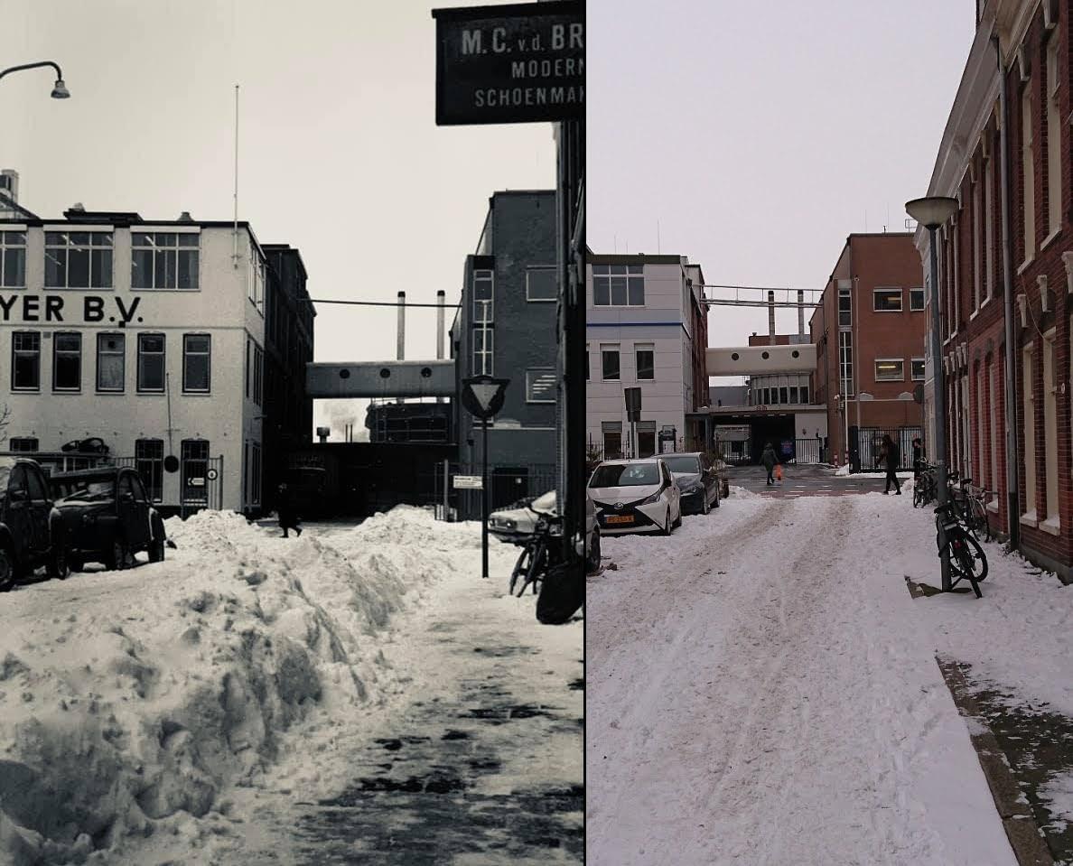 Sneeuwfoto 1979 en 2021
