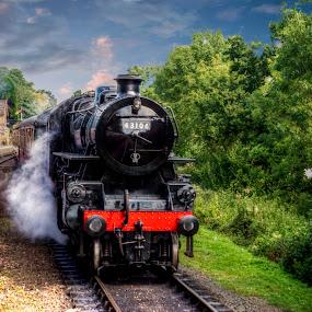severn valley railway by Peter Wyatt - Transportation Trains ( severn valley railway, steam train, locomotive, transportation, trains,  )