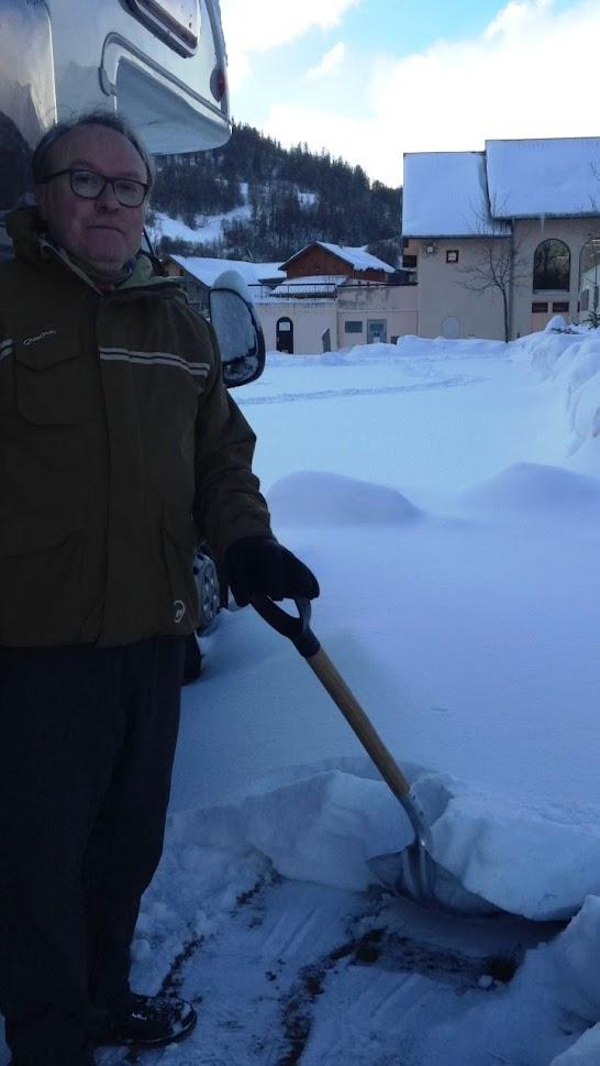 Toca fer anar la pala, vindran més nevades