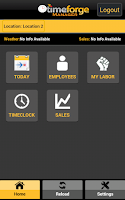 Screenshot of TimeForge Manager