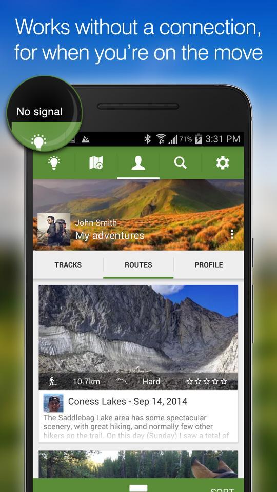 ViewRanger GPS - Trails & Maps screenshot #2