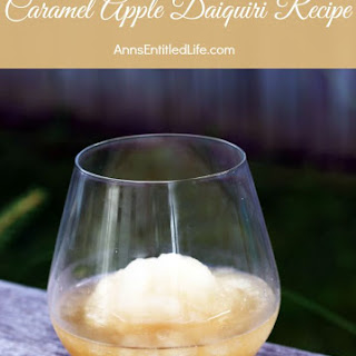 Caramel Apple Daiquiri
