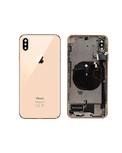 iPhone XS Max Housing with small parts Original Pulled Gold