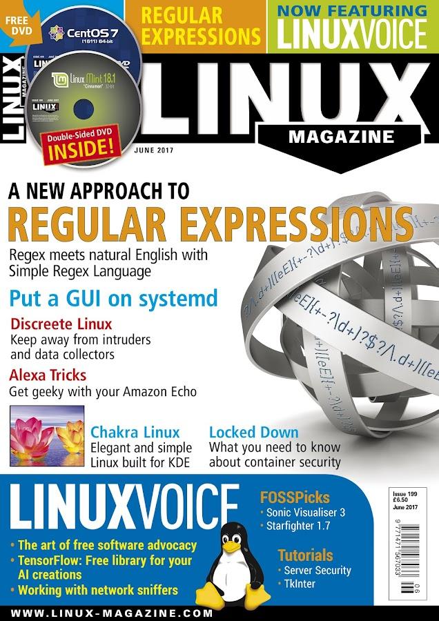 Linux Magazine- screenshot