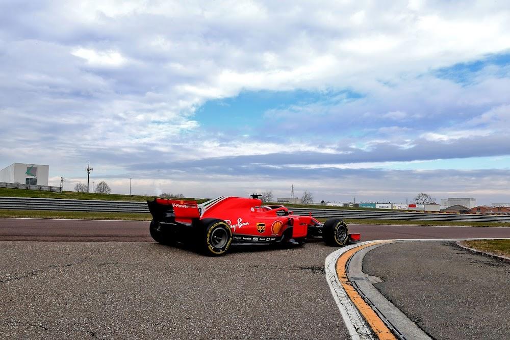 Sainz and Schumacher wait their turn as Ferrari start five-day test