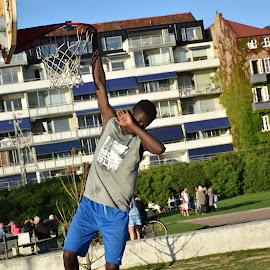 No matter really who I am, but what I do.. by Venkata Varun P - Sports & Fitness Basketball ( champion, basketball, baseball, sports )