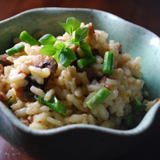 Sausage, Asparagus and Mushroom Risotto