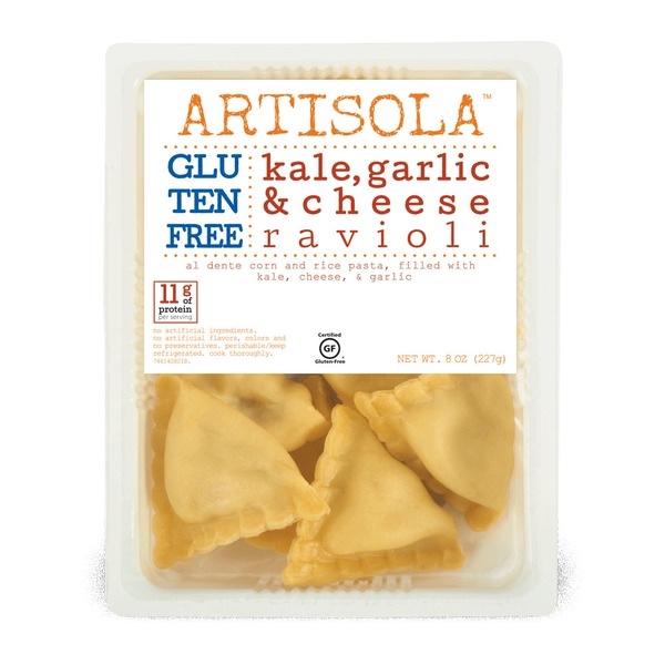 Kale, Garlic & Cheese Ravioli