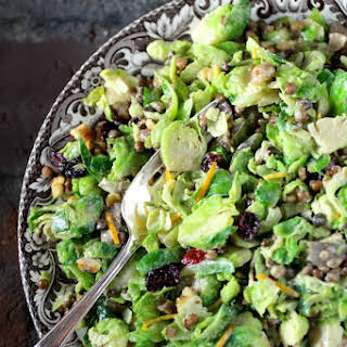 A Fresh California Twist on Brussels Sprouts.