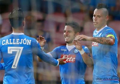 Napoli verslaat Fiorentina in de kwartfinale van de Coppa Italia