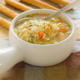 Slow Cooker Chicken And Rice Soup