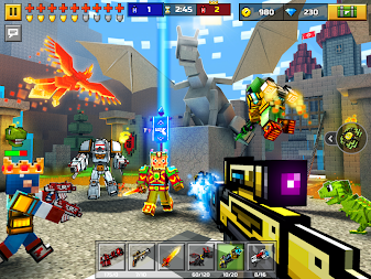 Pixel Gun 3D: Survival shooter & Battle Royale APK screenshot thumbnail 13
