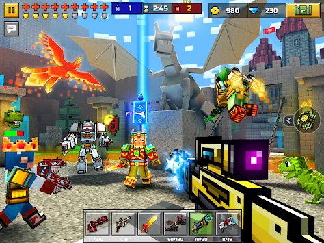 3D Pixel Gun (Pocket Edition) APK screenshot thumbnail 7