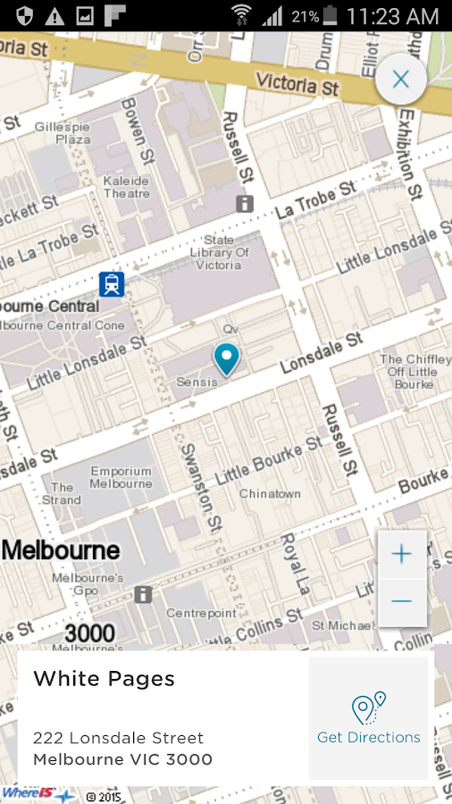White Pages® Australia- screenshot