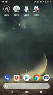 Bildschirmsperre (Screen Lock) Screenshot