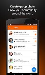 Voxer Walkie Talkie Messenger Screenshot 3
