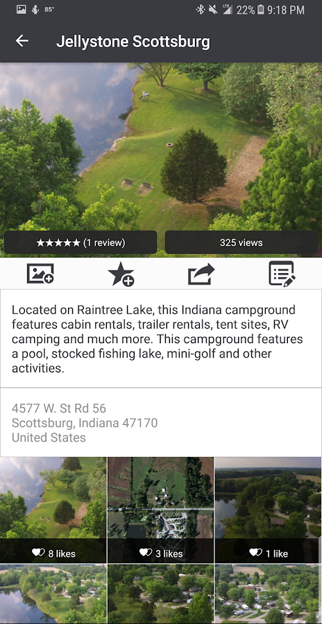 Aerial Camping — Discover Campgrounds from the Sky- screenshot