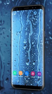 Waterdrops - Real Rain Live Wallpaper - náhled