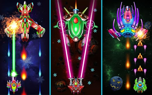 Galaxy Attack Alien Shooter Mod Apk 25.8 (Unlimited Money + Unlocked VIP-12) 8