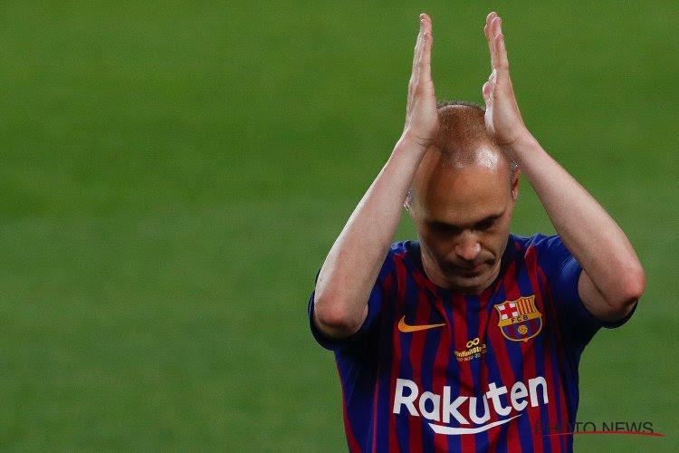 """OFFICIEEL: Iniesta maakt zijn keuze bekend en is op weg naar zijn """"nieuwe thuis"""""""