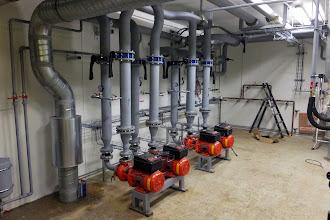 Photo: Local pompe #datacenter #reims (Visite de chantier 13.11.2014)