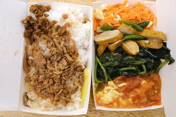 王家香火雞肉飯!高CP值的火雞肉便當、魯肉便當,裝好裝滿只要$60元,內用享冷飲無限暢飲!