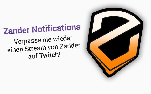 ZanderLP - Livestream Notifications